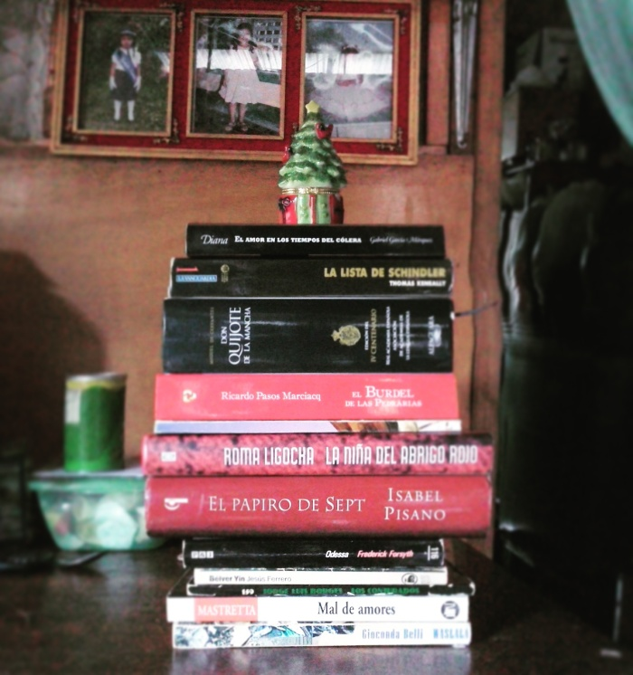Libros otorgados por aldogal.WordPress.com a la biblioteca personal del Visitante de Faguas.